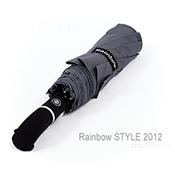 RB-Teflon_大型48吋超潑水自動傘-防風傘/俐落灰