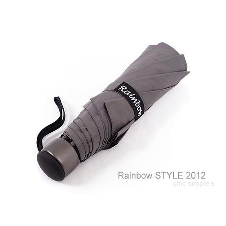 精工12角切割_潑水性晴雨傘/輕量-防風設計折疊傘(俐落灰)