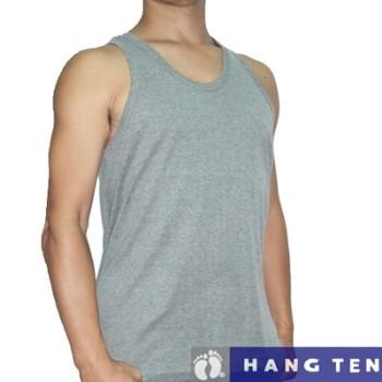 【HANG TEN】時尚型男羅紋彩色背心~5件組/各1色(XL)