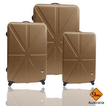 Gate9英倫系列ABS輕硬殼行李箱三件組