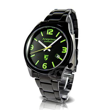 【Arseprince】迷戀風情中性錶-仙境綠