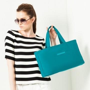 twinwow - 知性風采 - 細緻質感手提包-印度藍
