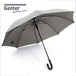 《RainBow》Genter-Eng紳士系列-直立式晴雨傘(俐落灰)