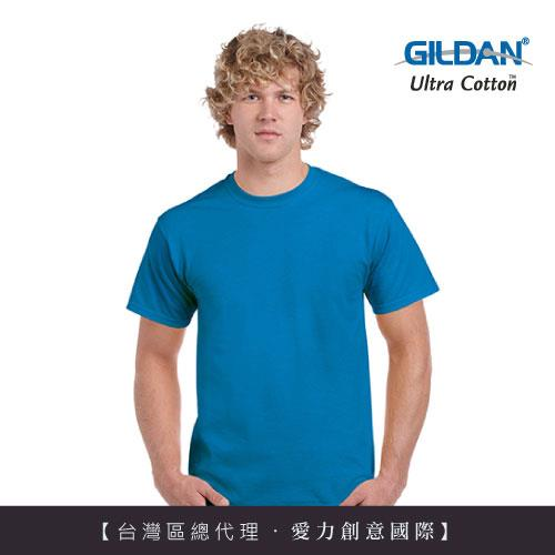 GILDAN 總代理100%美國棉~ 圓筒短袖素面TShirt~寶石藍