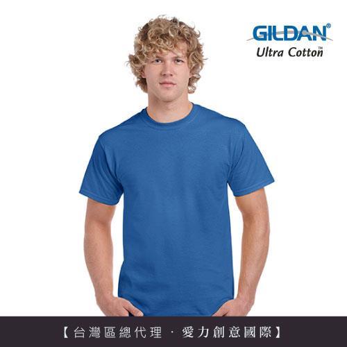 GILDAN 總代理100%美國棉~ 圓筒短袖素面童TShirt~寶藍