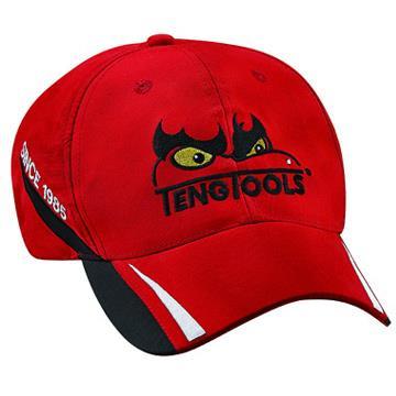 《北歐設計》天魔賽車款紅色帽子