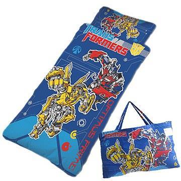 【變形金剛】戰鬥篇-幼教兒童睡袋(藍 4X5尺)