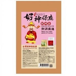 台灣好神保庇袋-財神爺--財源廣進