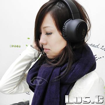 【Lus.G】遇見巴黎素色時尚圍巾