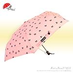 緞帶點點-自動傘(輕粉紅) /防風傘抗UV傘陽傘洋傘雨傘折傘