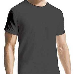 【CK】男加大尺碼圓領T恤黑色內衣2件組
