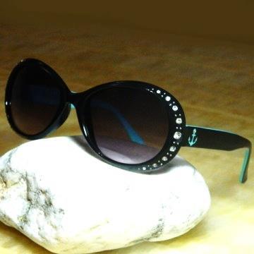 【Hawk eyes太陽眼鏡】A014b橢圓水鑽海錨