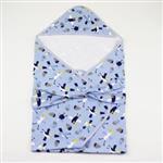 【愛的世界】海鷗抱巾/-台灣製-(藍色)
