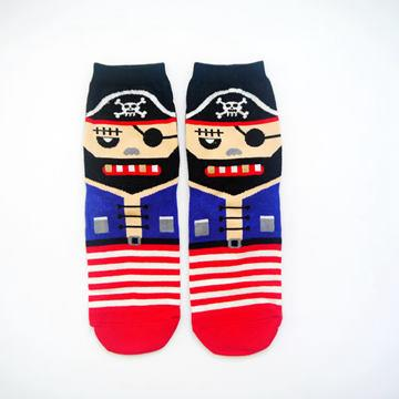 Halloween短襪(海盗)‧韓國VIVID COLOR