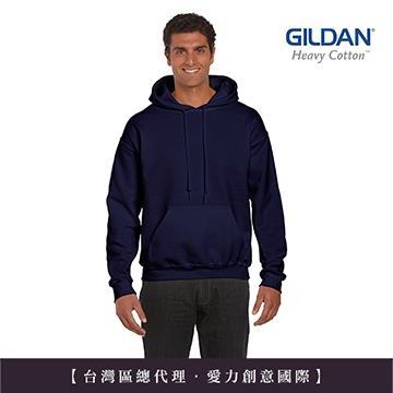 GILDAN 總代理-100%美國棉~亞規連帽T恤~藏青