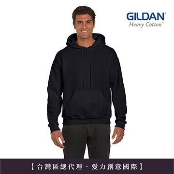GILDAN 總代理-100%美國棉~亞規連帽T恤~黑