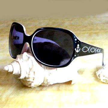 【Hawk eyes太陽眼鏡】A012b水鑽海錨&魚