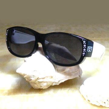 【Hawk eyes太陽眼鏡】成人套鏡-FOA02b-蝴蝶水鑽