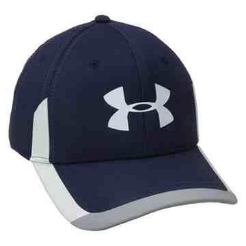 Under Armour 男時尚邊飾款夜藍色棒球帽
