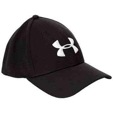 Under Armour 男時尚簡約黑色棒球帽