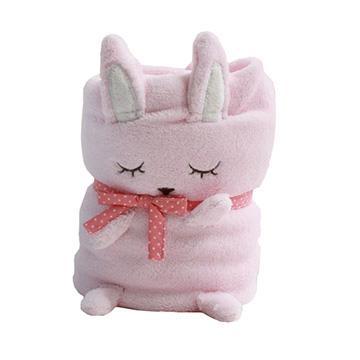 甜心兔可愛造型毯/嬰兒毛毯/午睡毯/冷氣毯