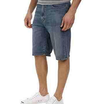 【Levi's】男569牛仔古包色中腰寬鬆直筒短褲
