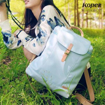 【KOPER】小清新元氣厚片包-棉花藍