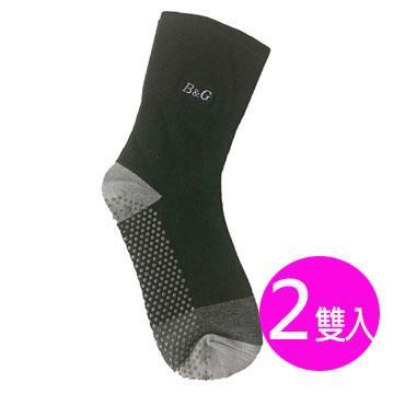 【京美】能量健康按摩襪(寬口黑)2雙入(F)