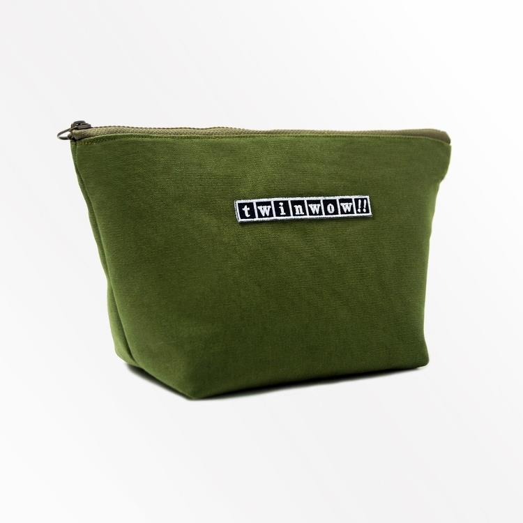 twinwow - 貼心時尚 - 細緻質感化妝包 - 抹茶綠