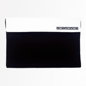 twinwow - 時尚筆記 - 細緻質感平板包 - 時尚黑白