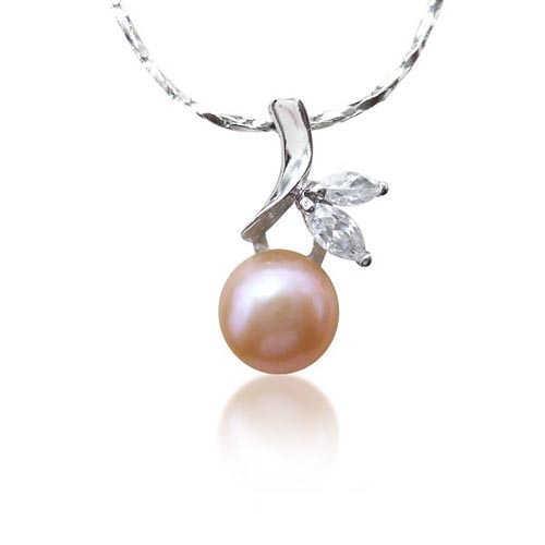【小樂珠寶】時尚搭配單品 ---頂級天然珍珠墬鍊