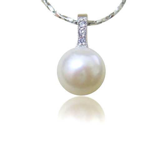 【小樂珠寶】運動風女孩---頂級天然珍珠墬鍊