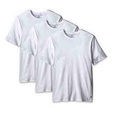 【Tommy Hilfiger】2016男時尚品味圓領白色內衣3件組