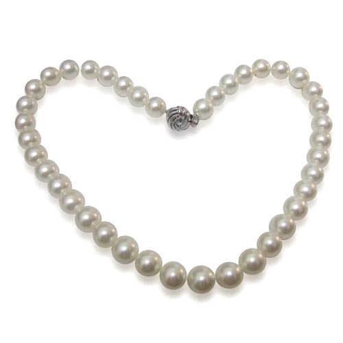 【小樂珠寶】史上最強打實搭品---頂級3A南洋深海貝珍珠項鍊