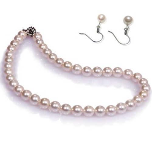 【小樂珠寶】美人印象不變---頂級3A南洋深海貝珍珠套組