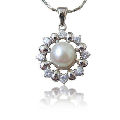 【小樂珠寶】活力滿點甜美實搭---頂級天然珍珠墬鍊