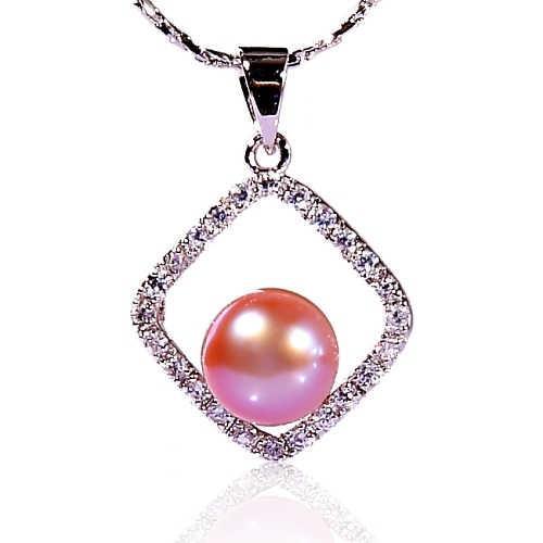【小樂珠寶】人氣定番登場囉---頂級天然珍珠墬鍊