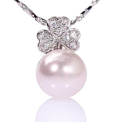 【小樂珠寶】搭配入門小物---頂級天然珍珠墬鍊