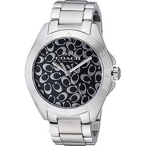 COACH TRISTEN 慵懶自信時尚Logo圖騰腕錶 (現貨+預購)