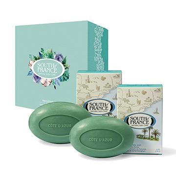 South of France 南法馬賽皂 蔚藍海岸 馬卡龍手工皂禮盒組 170g(2入/盒)