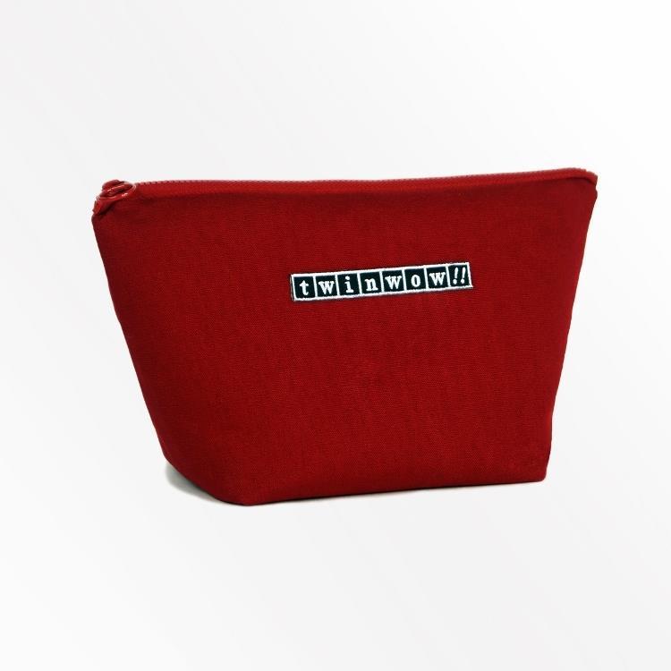 twinwow - 貼心時尚 - 細緻質感化妝包 - 經典紅