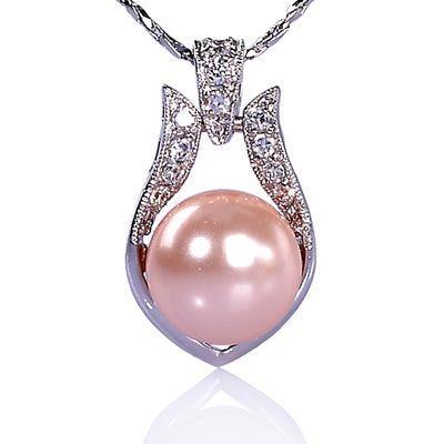 【小樂珠寶】打造美人印象,內斂甜美風,美美女孩專屬風---頂級3A南洋深海貝珍珠墬鍊