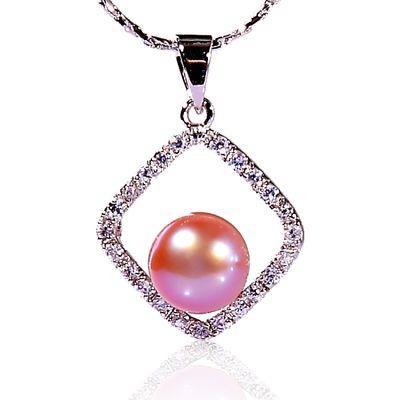 【小樂珠寶】展現時髦今年風格,隨性自由自在感---頂級3A南洋深海貝珍珠墬鍊