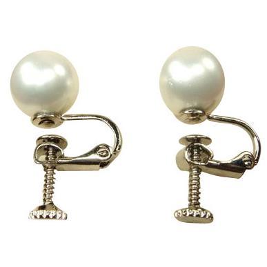 【小樂珠寶】小樂珠寶品質,服務,價格NO.1喲,全美正圓3A南洋深海貝珍珠耳夾耳環,上班族必買款