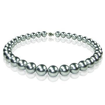 【小樂珠寶】優雅的珍珠項鍊,不僅襯托您高貴典雅的氣質,全美正圓3A南洋深海貝珍珠項鍊