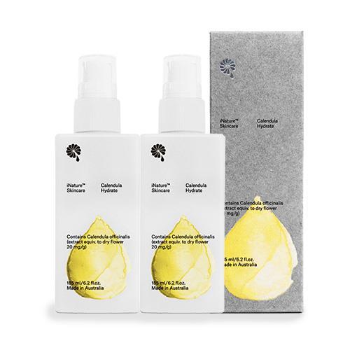 iNature植維方金盞花保濕潤膚乳液(185ml/瓶,共2瓶)