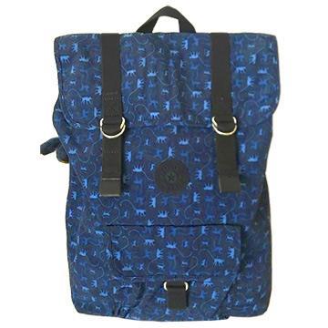 KIPLING 藍色小猴電腦後背包 (現貨+預購)