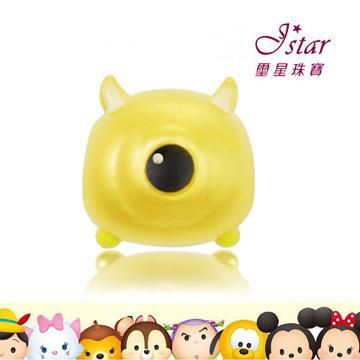 Jstar 璽星珠寶-迪士尼TSUM TSUM系列-純金手鍊手環串珠-大眼仔款