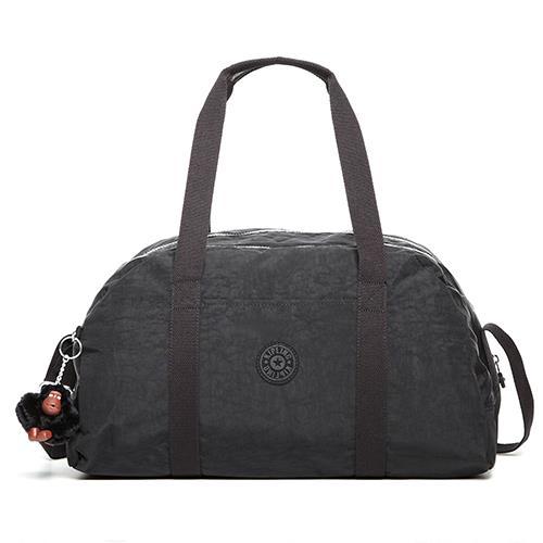 KIPLING 輕巧尼龍旅行袋-黑色 (現貨+預購)