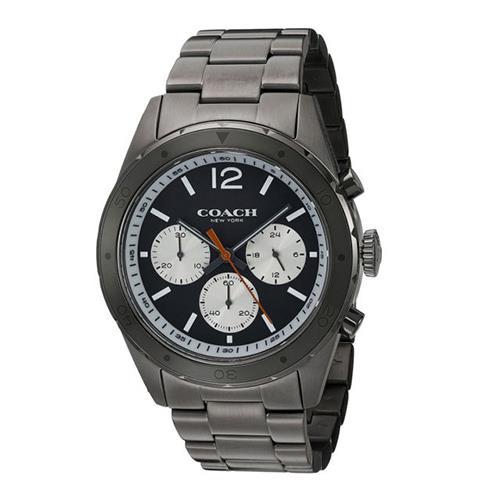 COACH 三眼不鏽鋼腕錶 (現貨+預購)